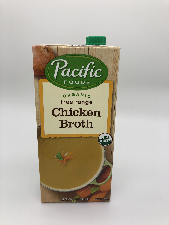 Broth Chicken Free Range 32oz. ORGANIC