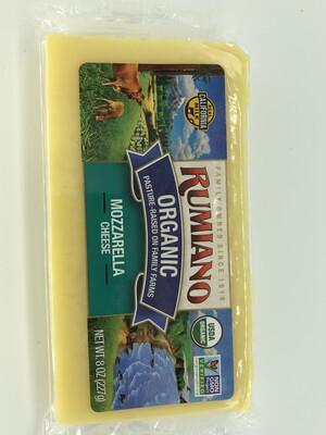 Cheese Mozzarella Rumiano ORGANIC 8oz.