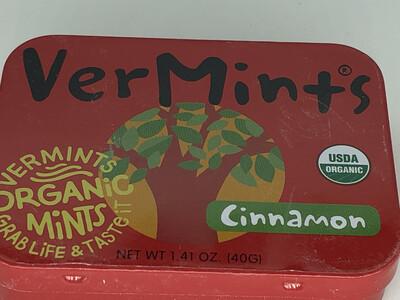 Breath Mints Cinnamon Vermints ORGANIC