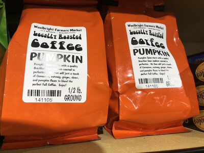 Coffee 1/2 lb. Pumpkin LOCAL