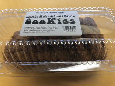 Cookies Oatmeal 8pk LOCAL