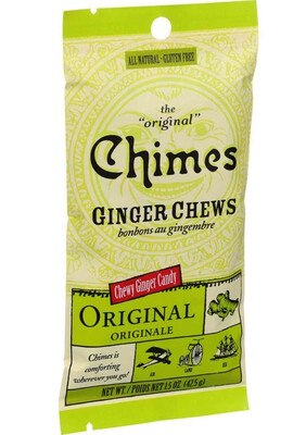 Ginger Chews Candy Chimes