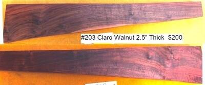 Claro Walnut #203