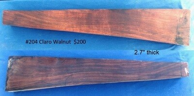 Claro Walnut #204