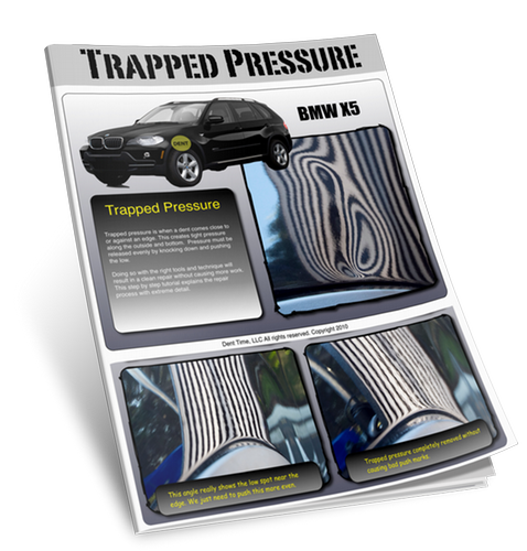 Trapped Pressure eBook - Paintless Dent Repair / Removal Tutorial Download