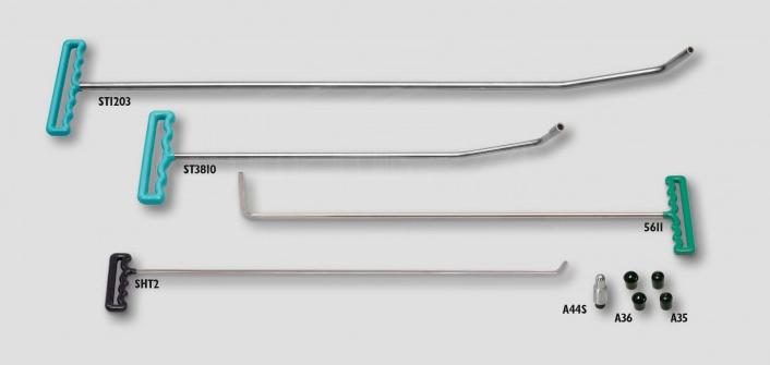 #01 - PDR 4 Piece Mini-Starter Paintless Dent Repair Tool Set