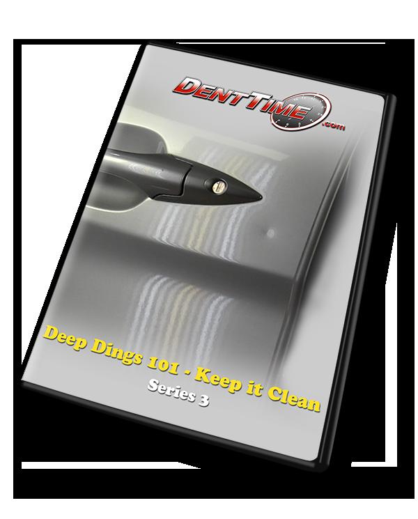 Deep Dings 101 - Keep It Clean - PDR Training Video (Download)