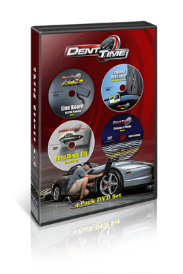 Dent Time 4 Pack PDR Training Videos - (Download)