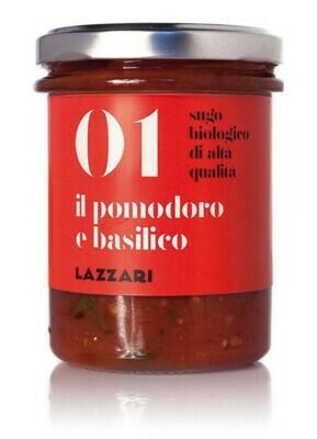 Sauce Tomates et basilic 180g