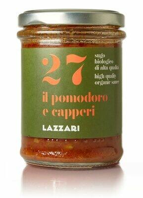 Sauce Tomates et câpres 180 gr