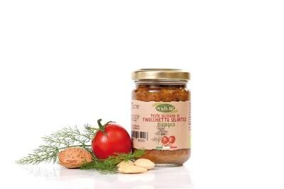 Pesto Sicilien au fenouil sauvage la vita bio 130gr