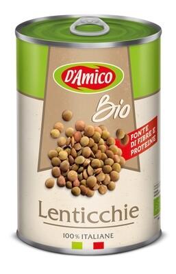 Lentilles biologiques 400gr