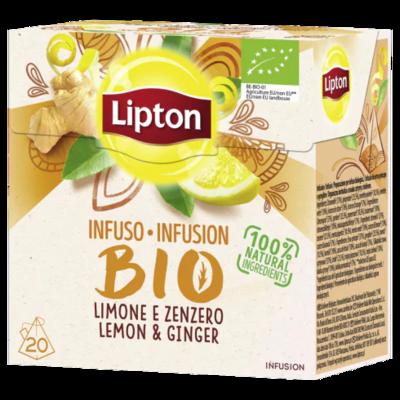 LIPTON INFUSION GINGEMBRE CITRON x 20