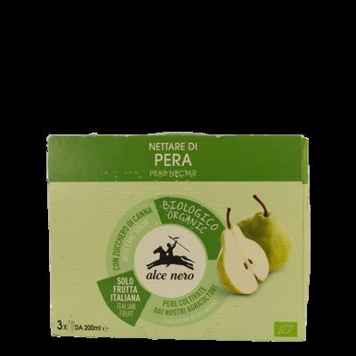 Nectar de poire biologique - 3 briques pour 600 ml