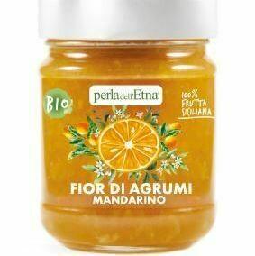 Marmelade BIO de mandarines de Sicile Perla Etna 225 gr