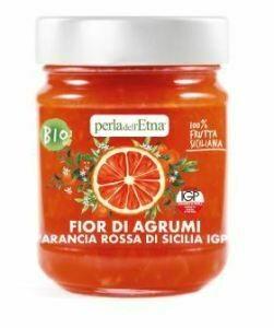 Marmelade BIO d'oranges sanguines IGP de Sicile Perla Etna 225gr