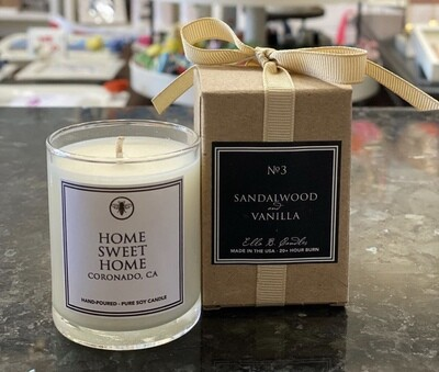 Votive Candle - Home Sweet Home
