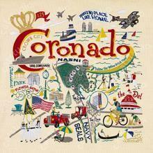 Coronado Fine Art Print 10x10