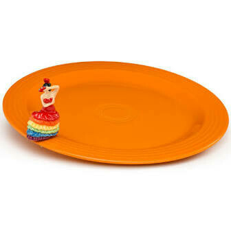 Nora Fleming Fiestaware with exclusive mini