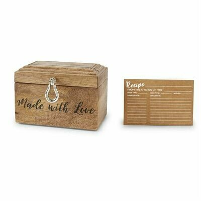 Bridal Recipe Box Set