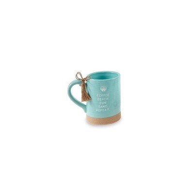 Coffee Beach Sea Mug