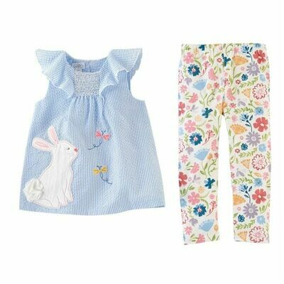 Easter Tunic And Leggings 3T