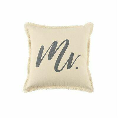 Frayed Mr Pillow