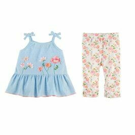 Garden Tunic And Capri Set 3T