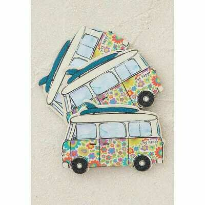 Emory Board-set Of 3-live Happy Van