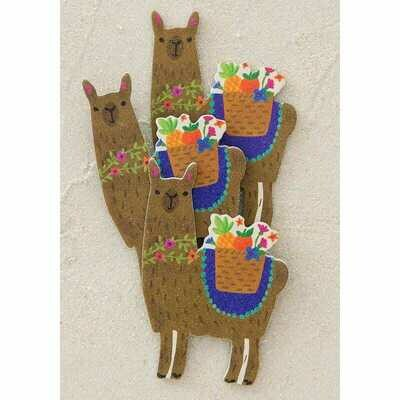 Emory Board-set Of 3-llama
