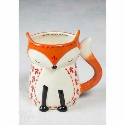 Folk Critter Mug Fox
