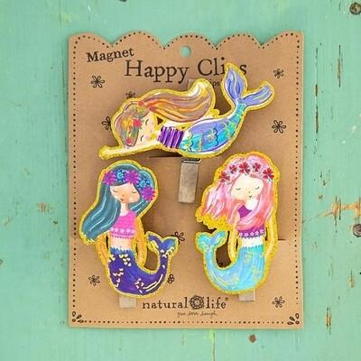 Magnet Happy Clips - Mermaids