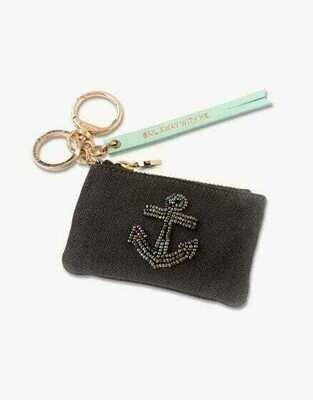 Anchor Pouch Bag Charm