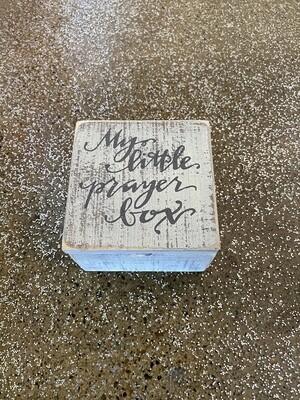 Hinged Box - Prayer Box