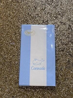 Coronado Whale Guest Towel