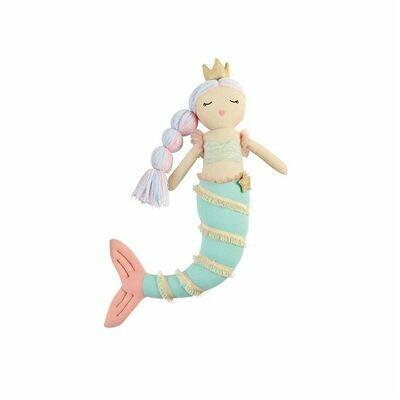 Green Tail Mermaid Doll