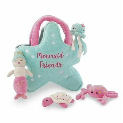Mermaid Friends Plush Set