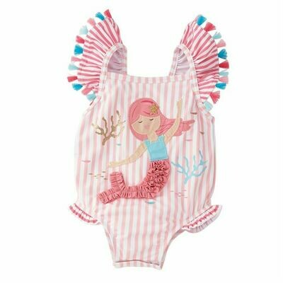 Mermaid One Piece Swimsuit 12-18 Months