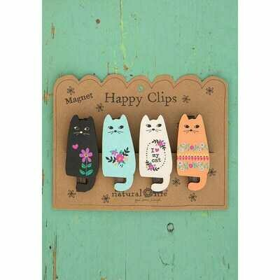 Magnet Happy Clips - Cat