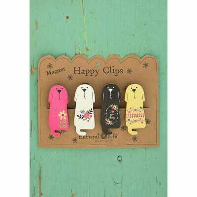Magnet Happy Clips - Dog