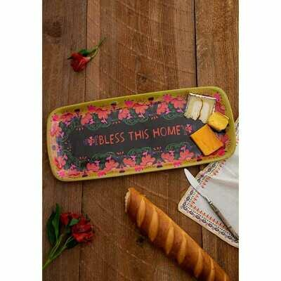 Melamine Tray Bless This Home