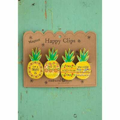 Magnet Happy Clips - Pineapple