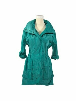 Jacket Blue/Green - M