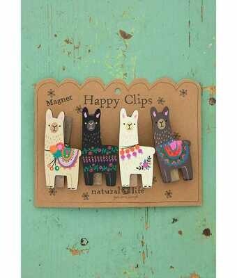 Magnet Happy Clips Llama