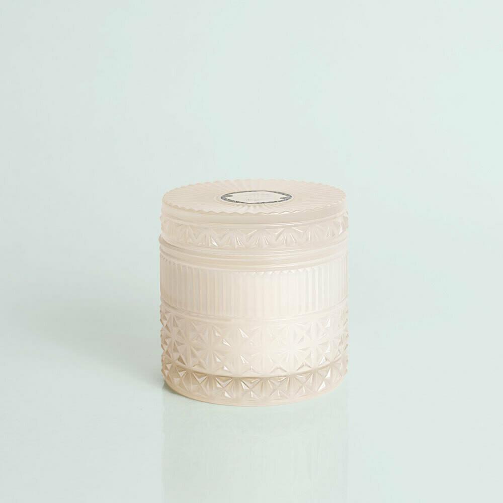 11oz Faceted Jar Pearl Modern Mint
