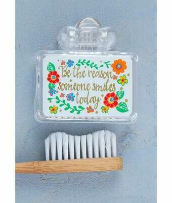 Be The Reason Someone Smiles Toothbrush Cover