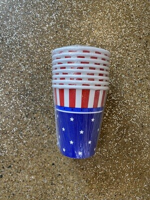 9oz American Paper Cup 8ct