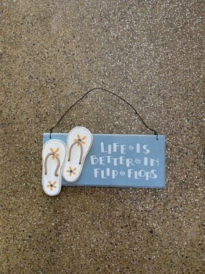 Banner Sign - Life Is Better