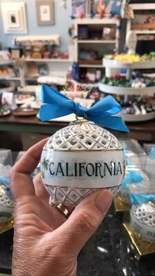 California Sphere Ornament