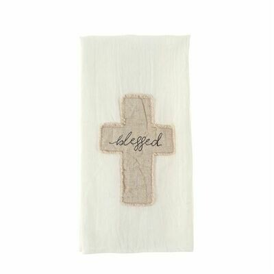 Blessed Cross Cotton Towel